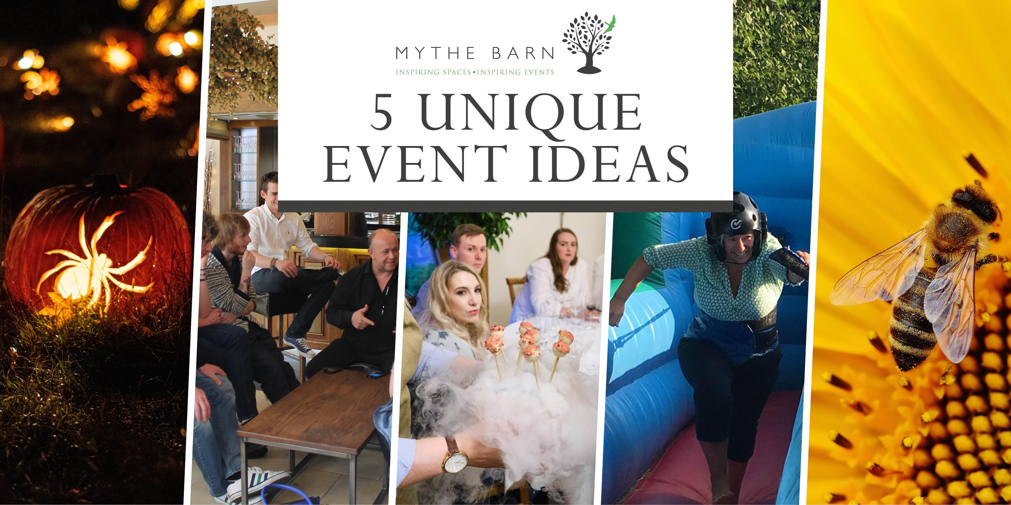 5 unique corporate event ideas